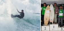 Campeão e Podium CNK17 1-Afonso Fernandes 2-Vasco Santos 3-David Barroco