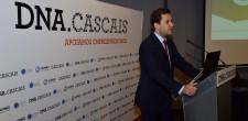 Ricardo Baptista Leite, vereador da Promoção do Emprego da Câmara de Cascais, na apresentação do projeto aos parceiros.