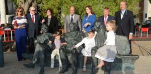 Inauguração da estátua do  ...