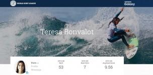 Teresa Bonvalot é campeã  ...